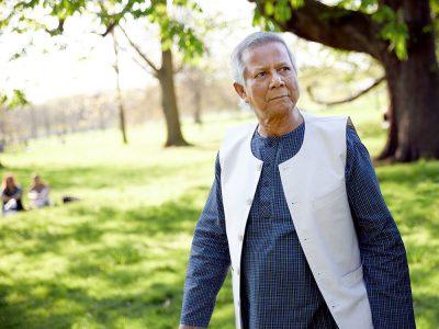 Muhammad Yunus, London